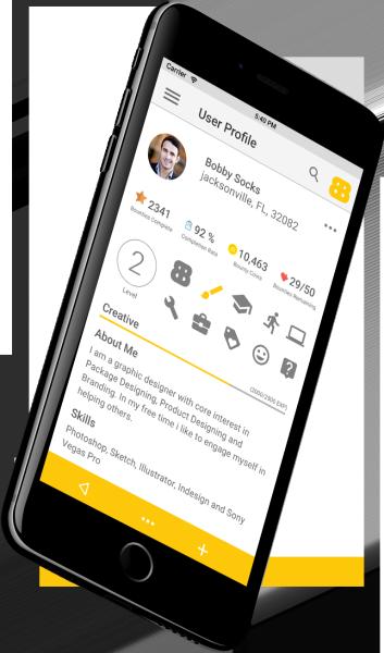 Bounty Board User Profile